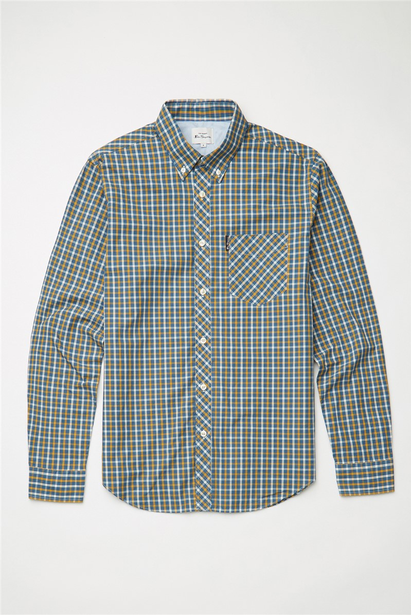 Signature House Checked Long Sleeved Shirt