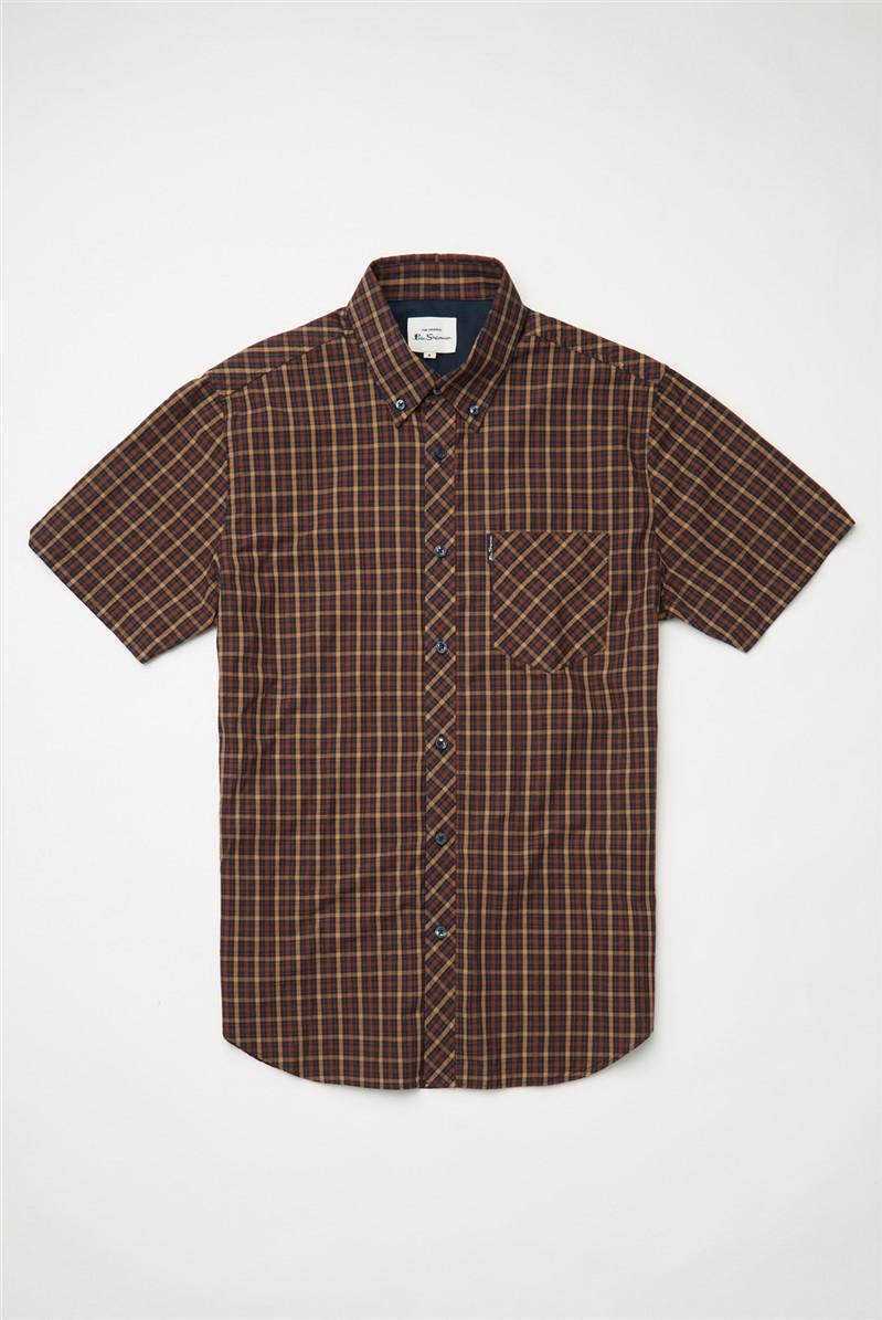 Signature House Checked Short Sleeved Shirt