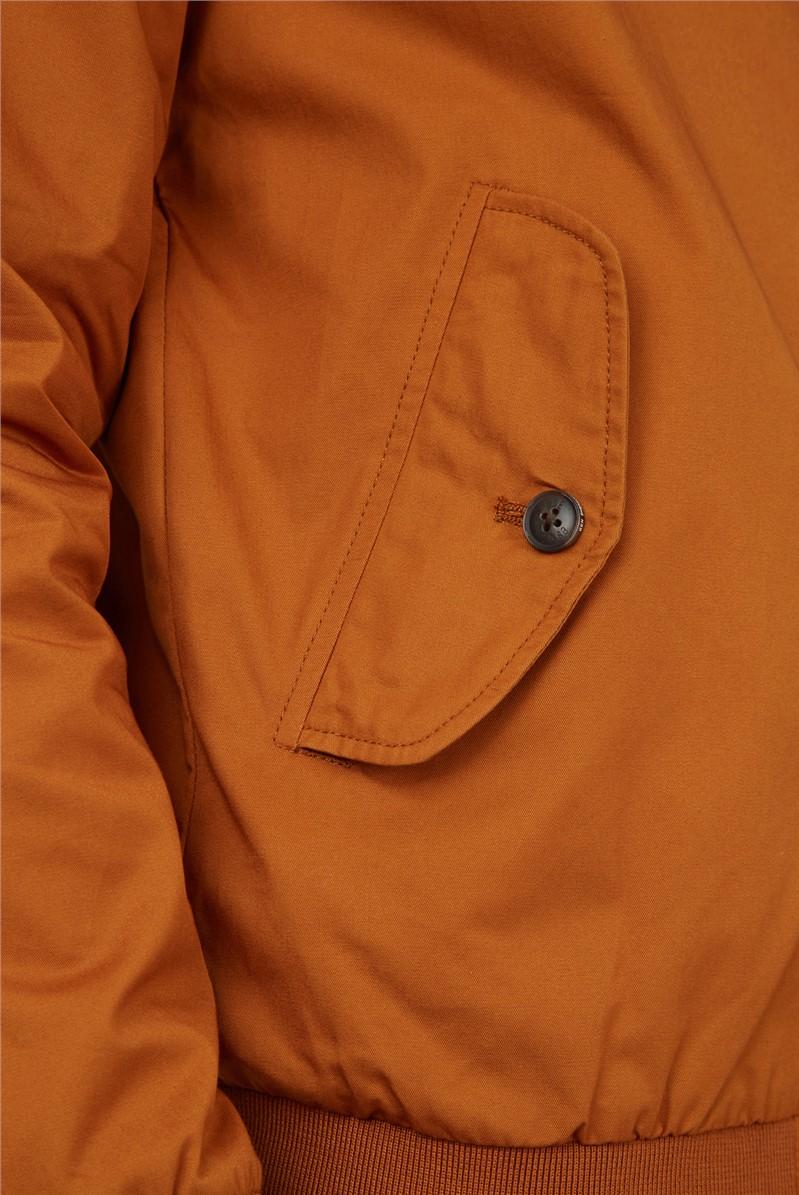 Gold Metal Signature Harrington Jacket
