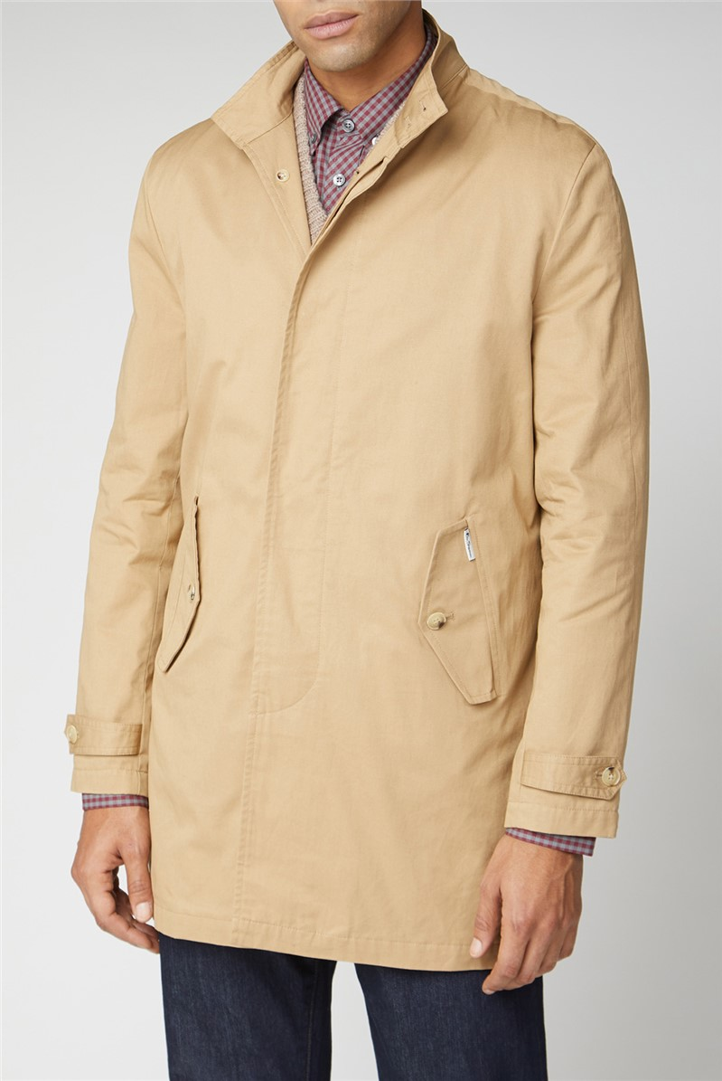 Beige Button Up Mac