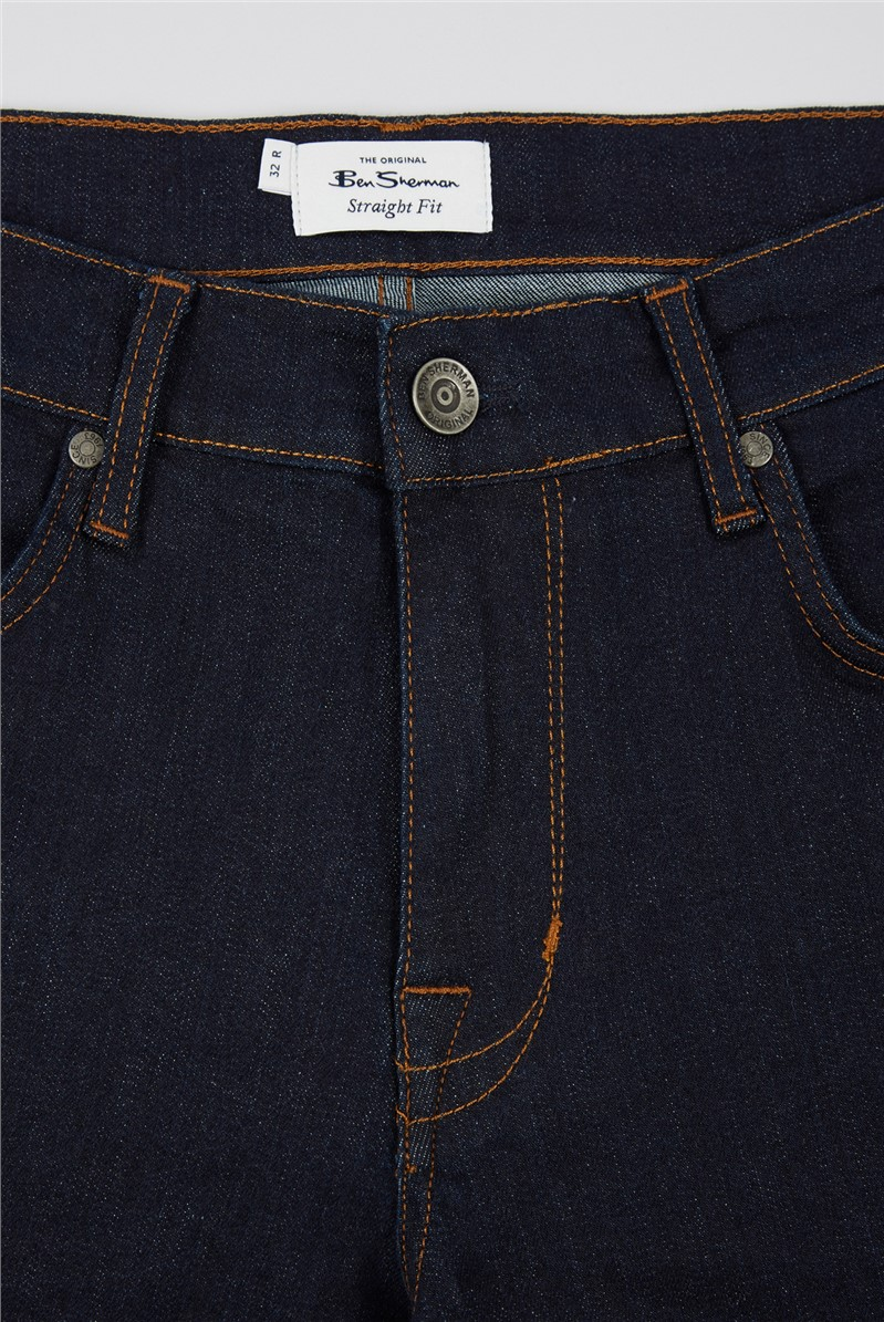 Straight Rinse Wash Jeans