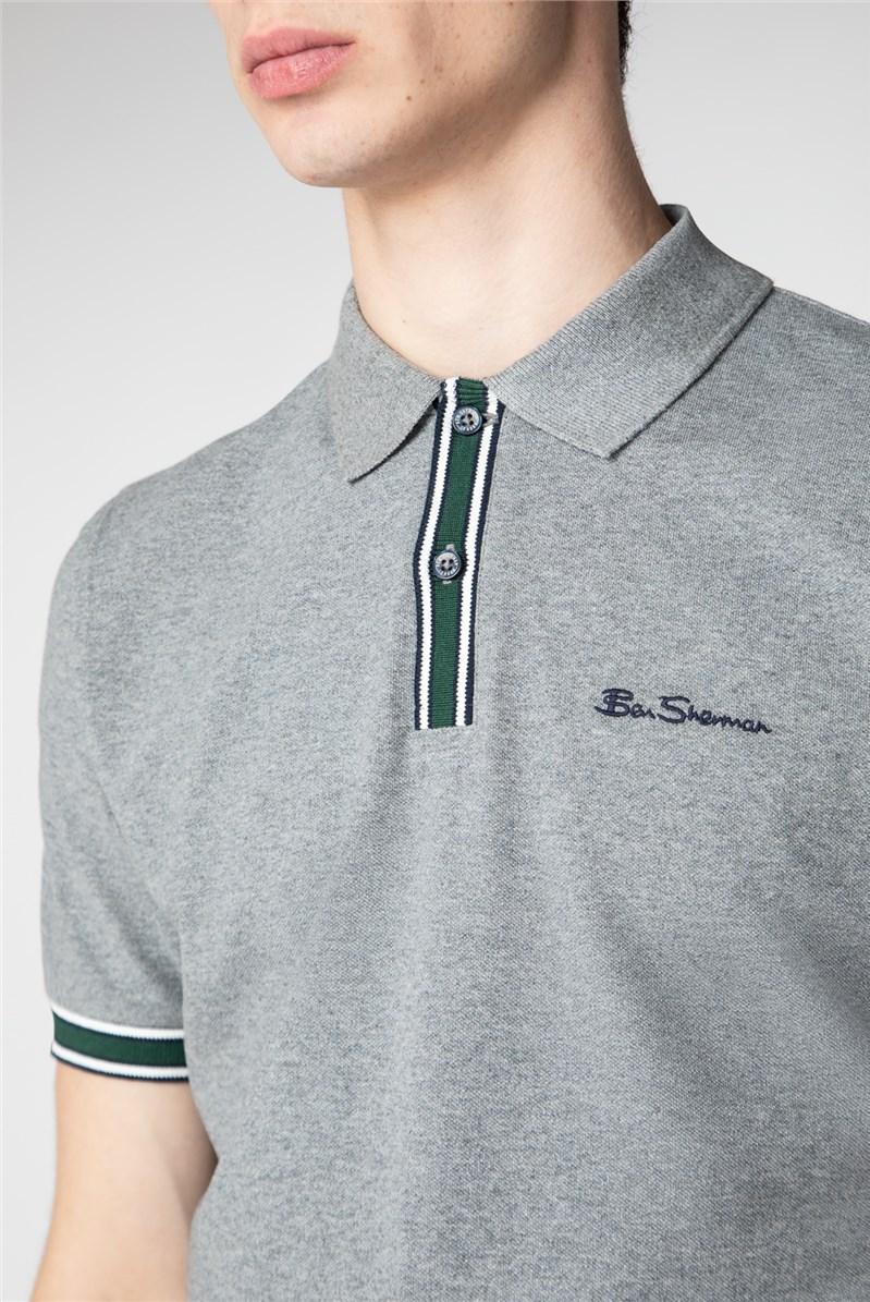 Mod Stripe Detail Polo