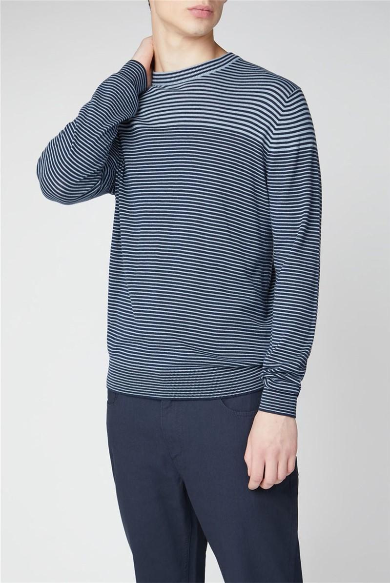Breton Stripe Crew Knit