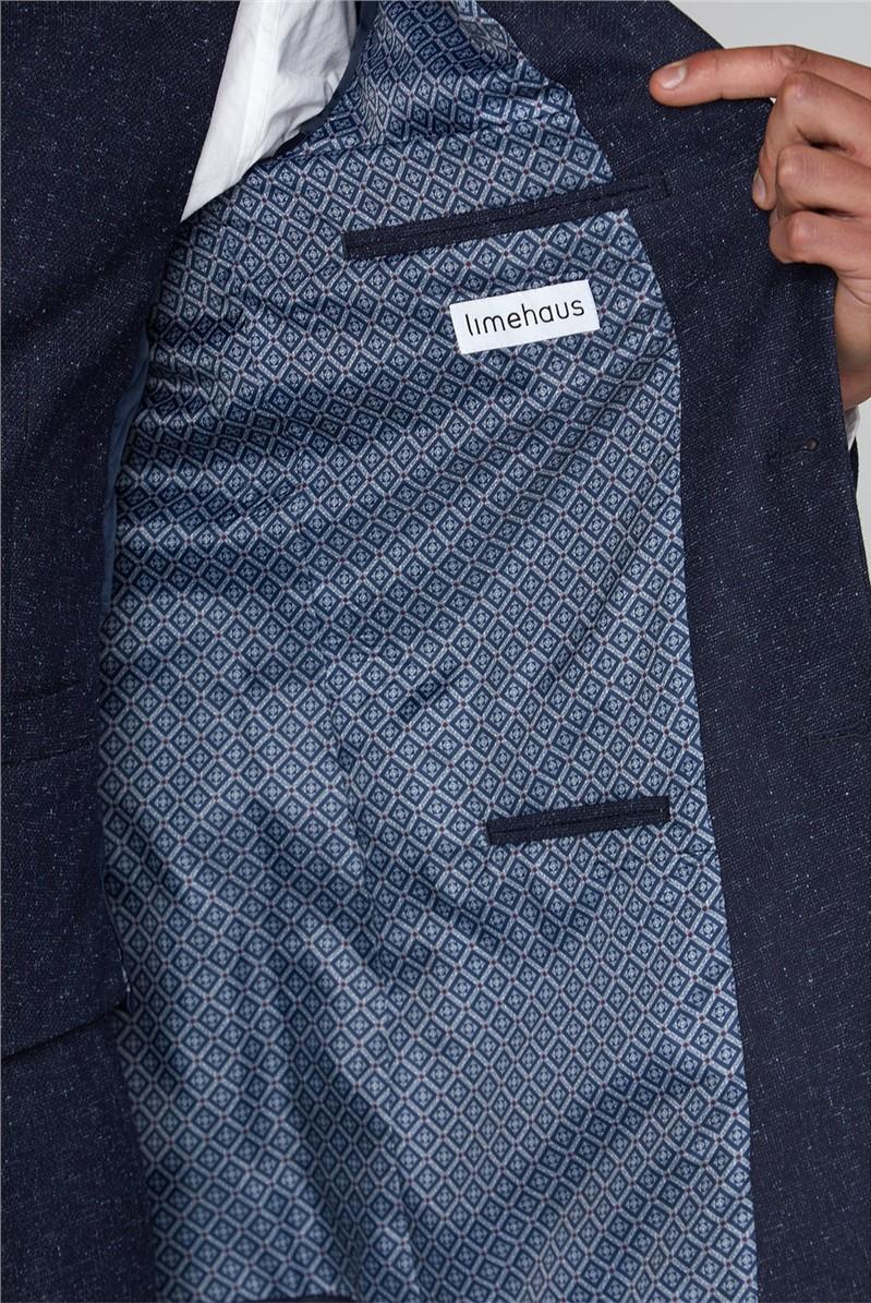 Navy Slim Waistcoat