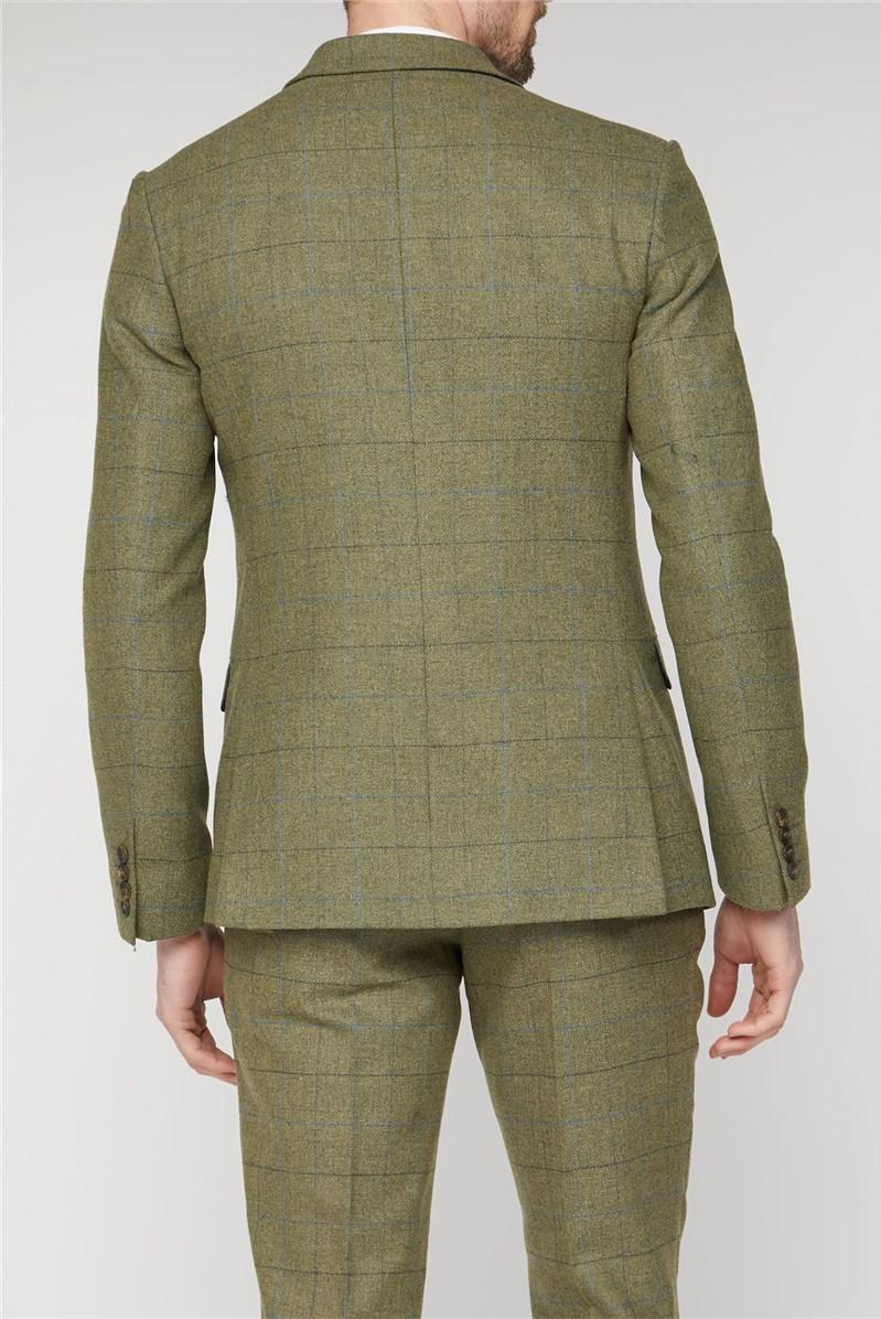 Heritage Checked Slim Fit Waistcoat