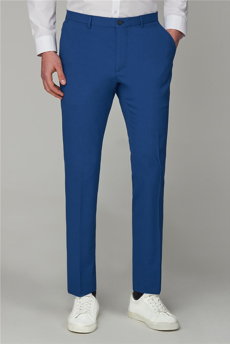 Bright Blue Skinny Fit Suit