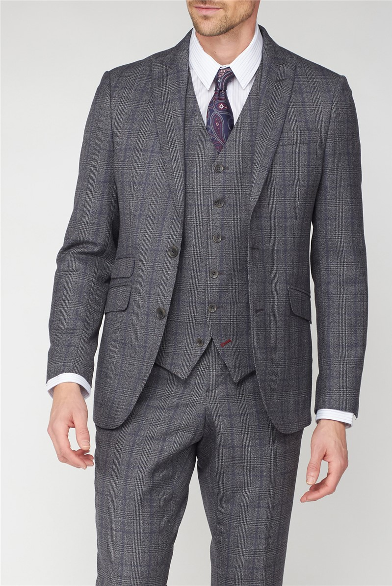 Studio Grey with Airforce Check Ivy League Suit