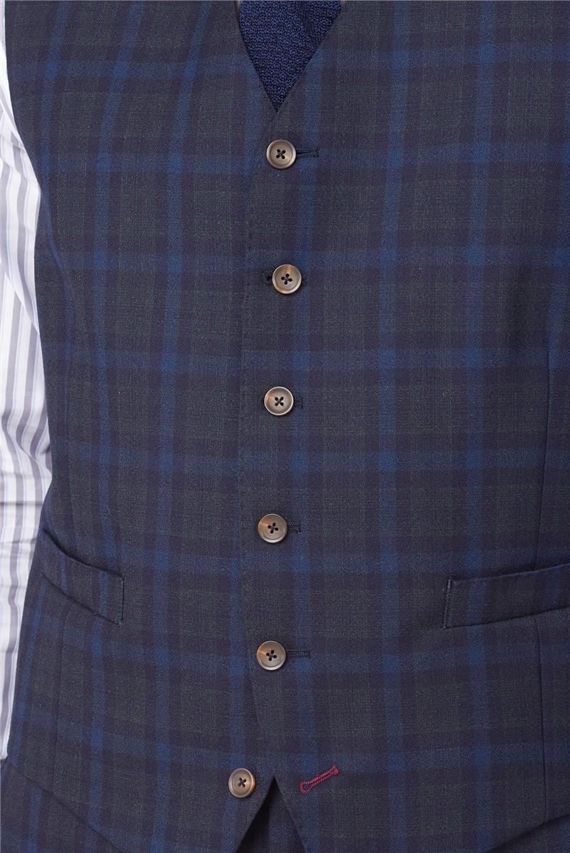 Stvdio Blue Green Jaspe Check Ivy League Suit