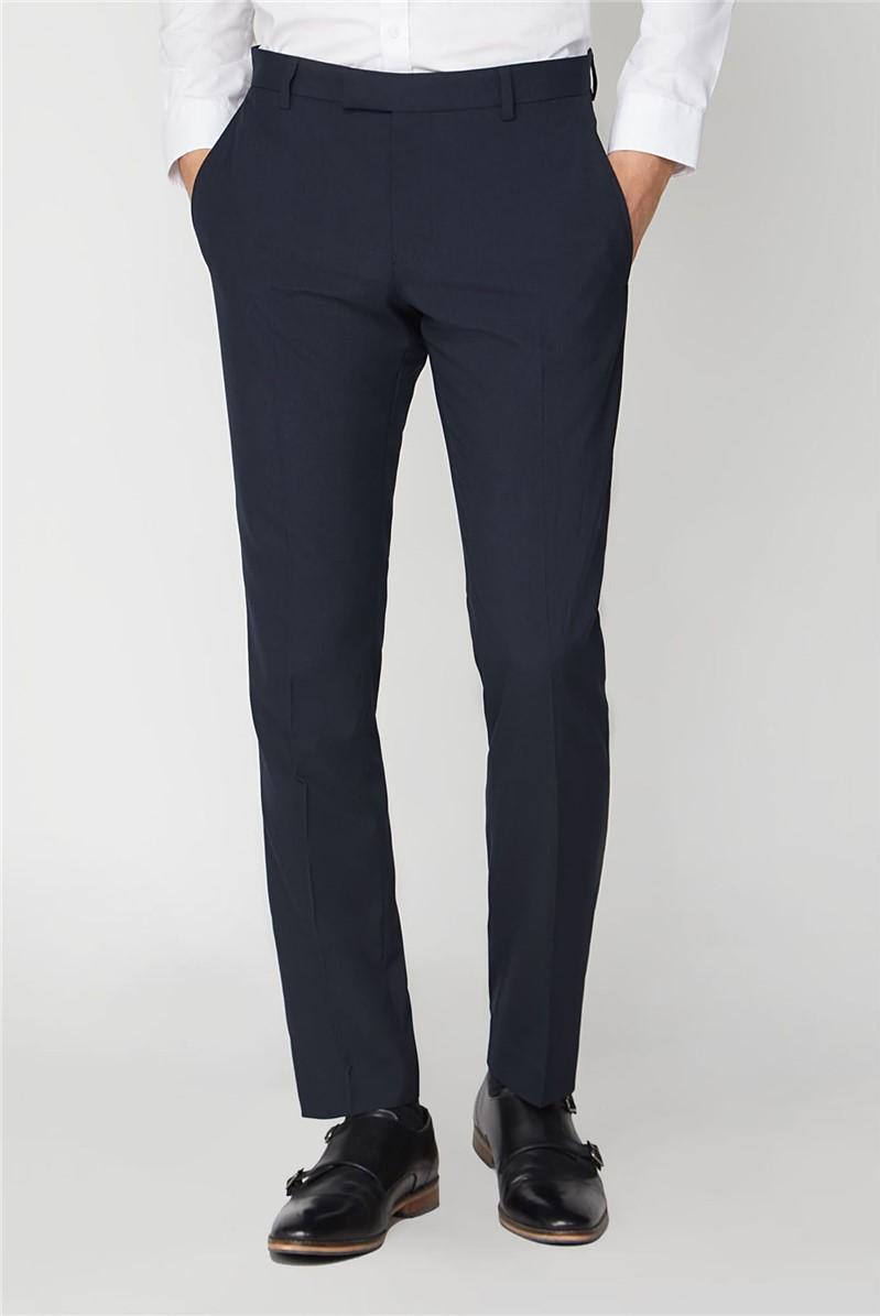 Navy Stretch Suit