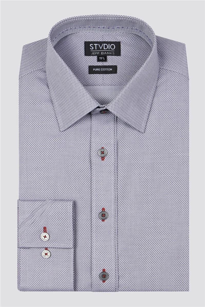 Stvdio Grey Dobby Shirt