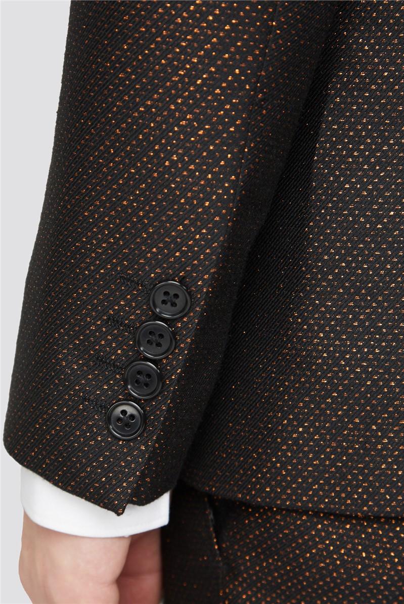 Copper Fleck Slim Fit Suit