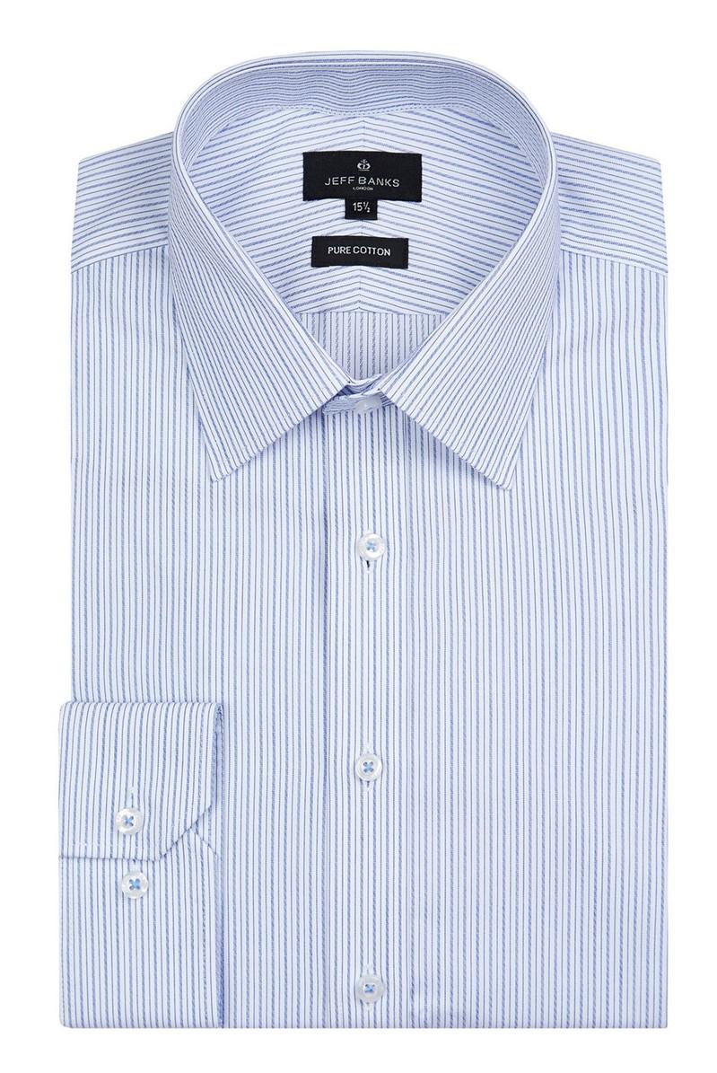 London Blue Stripe Shirt