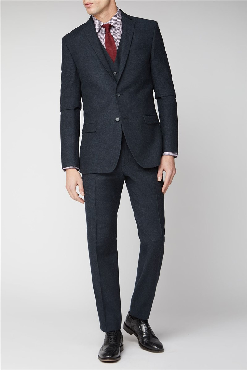 Navy Slim Suit