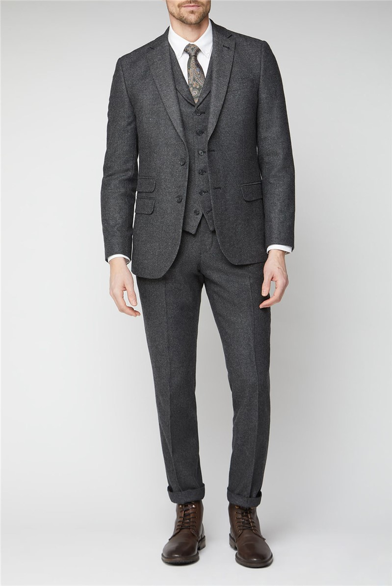 Charcoal Donegal Tailored Suit