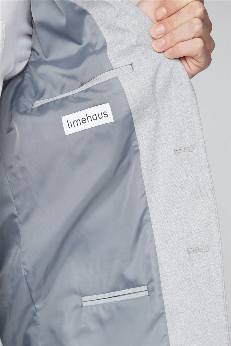 Light Grey Slim Suit