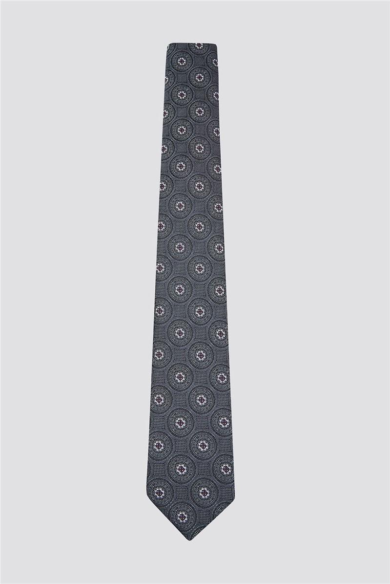 Grey Deco Tile Tie