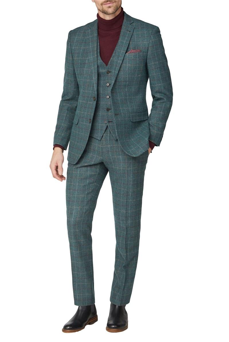 Green Check Heritage Tweed Suit