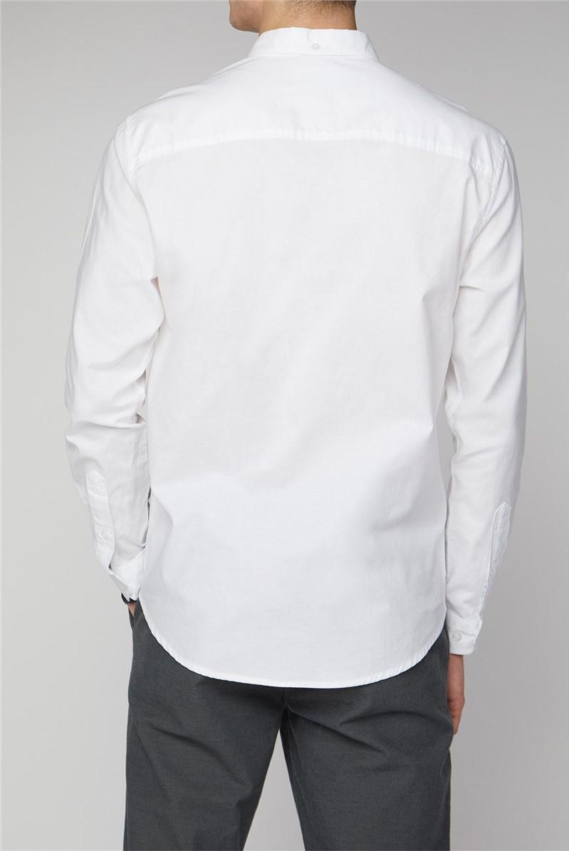 Molkom Long Sleeve Plain Oxford Shirt