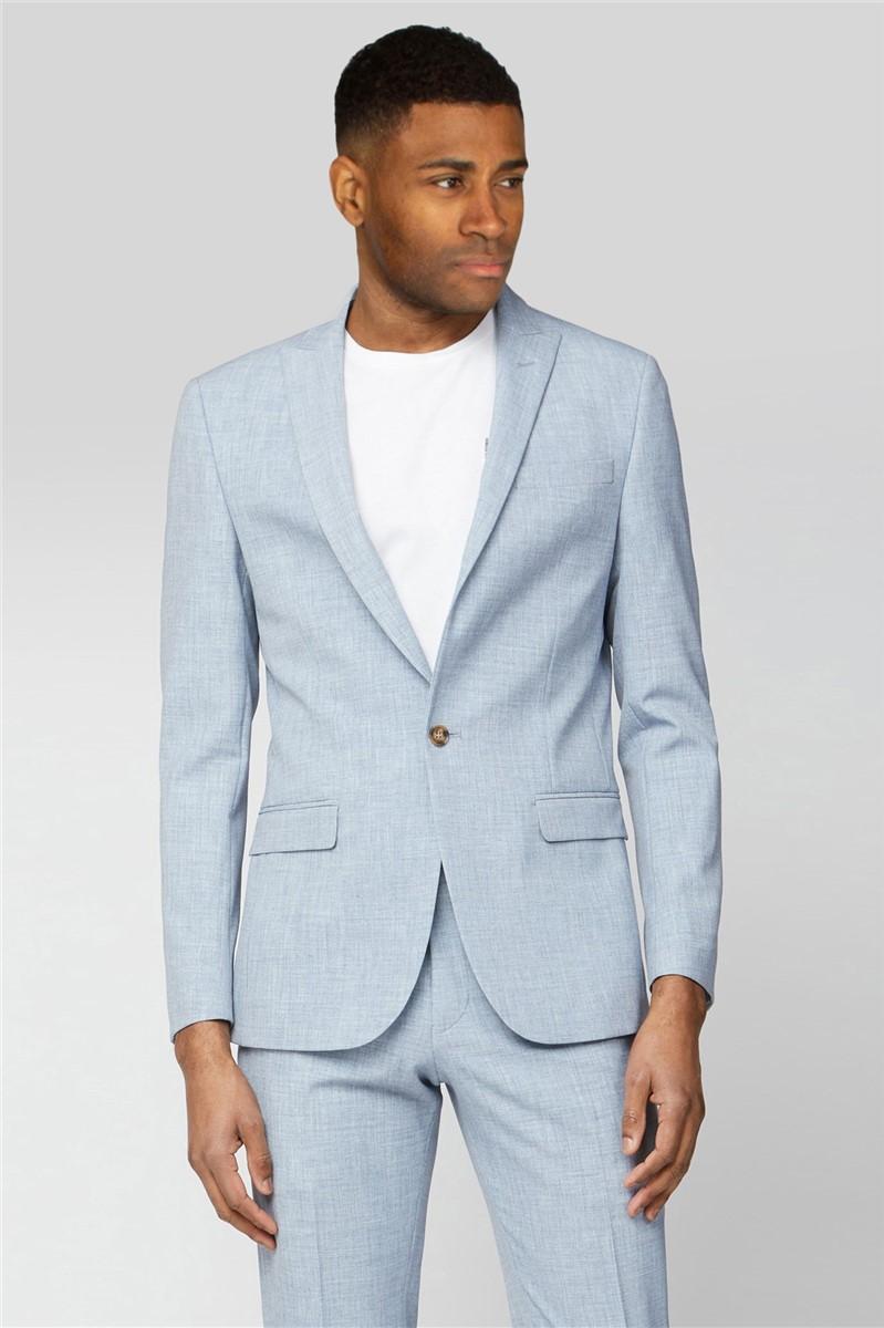 Light Blue Slim Fit Suit