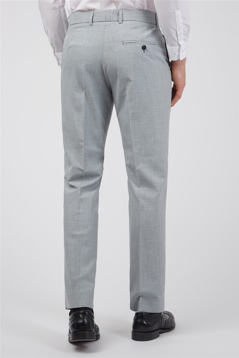 Light Grey Texture Tailored Fit Suit
