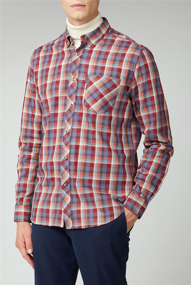 Winter Madras Check Shirt