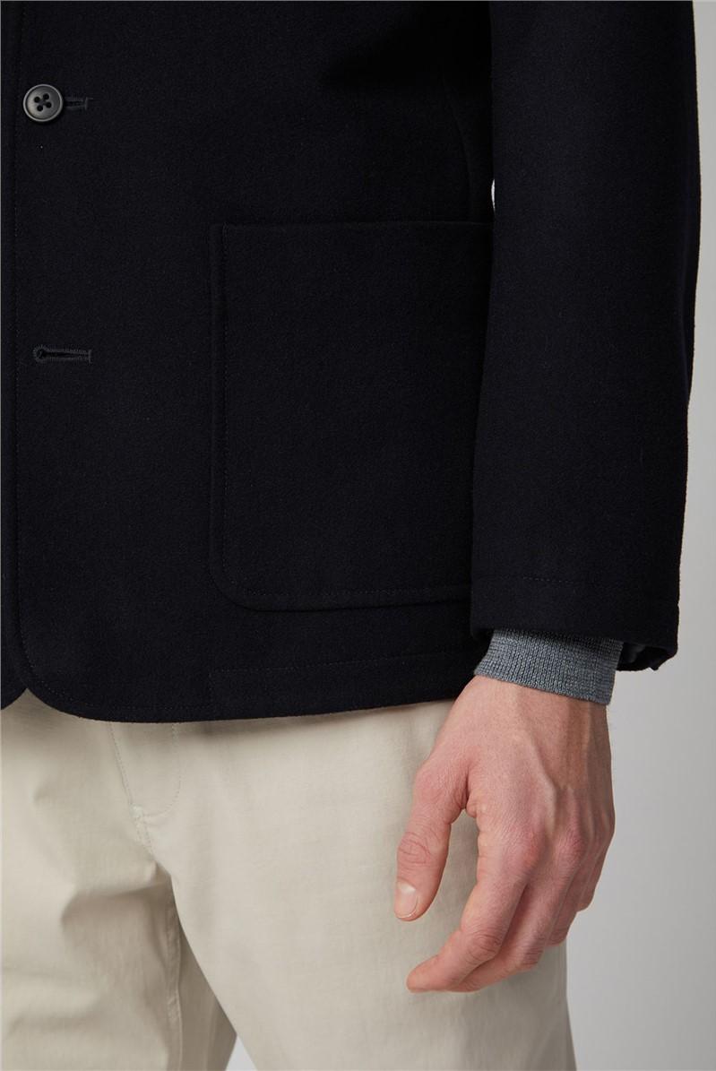Ramsan Black Deconstructed Blazer