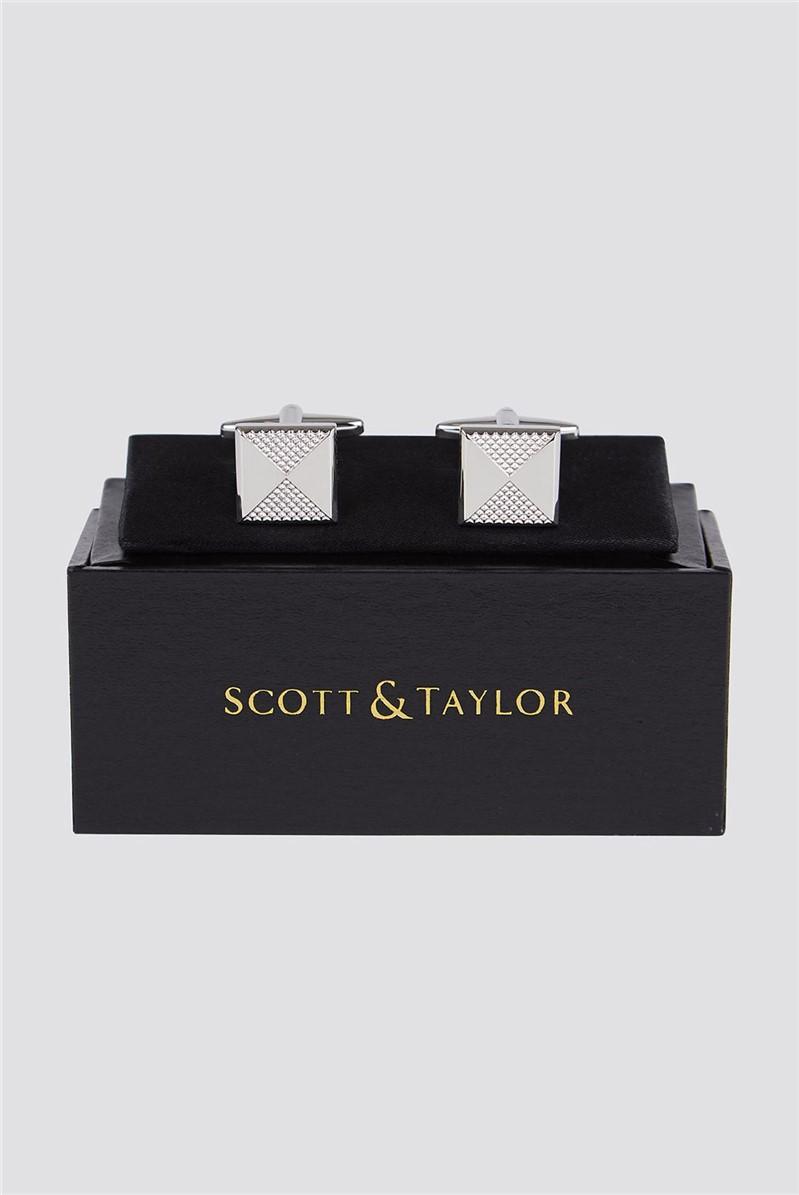 Silver Parcel Cufflinks