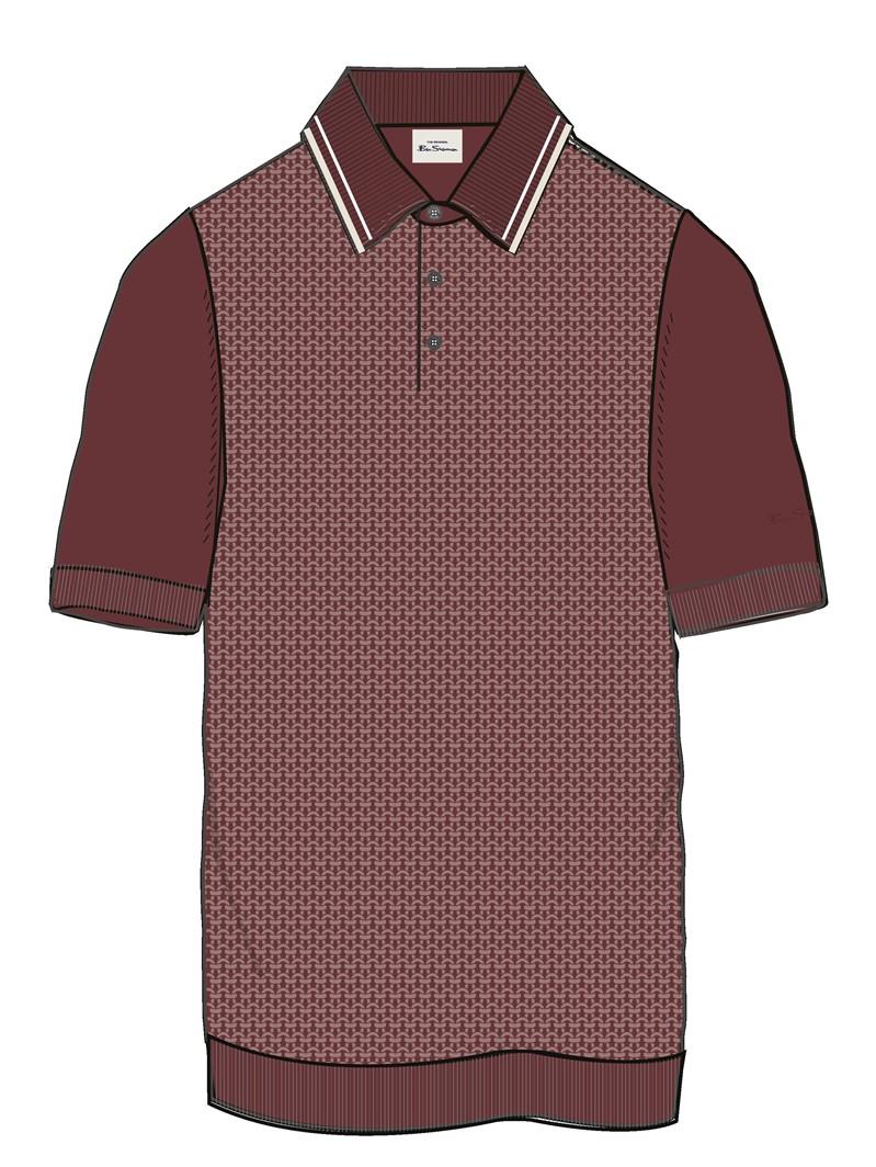 Textured Cotton Polo