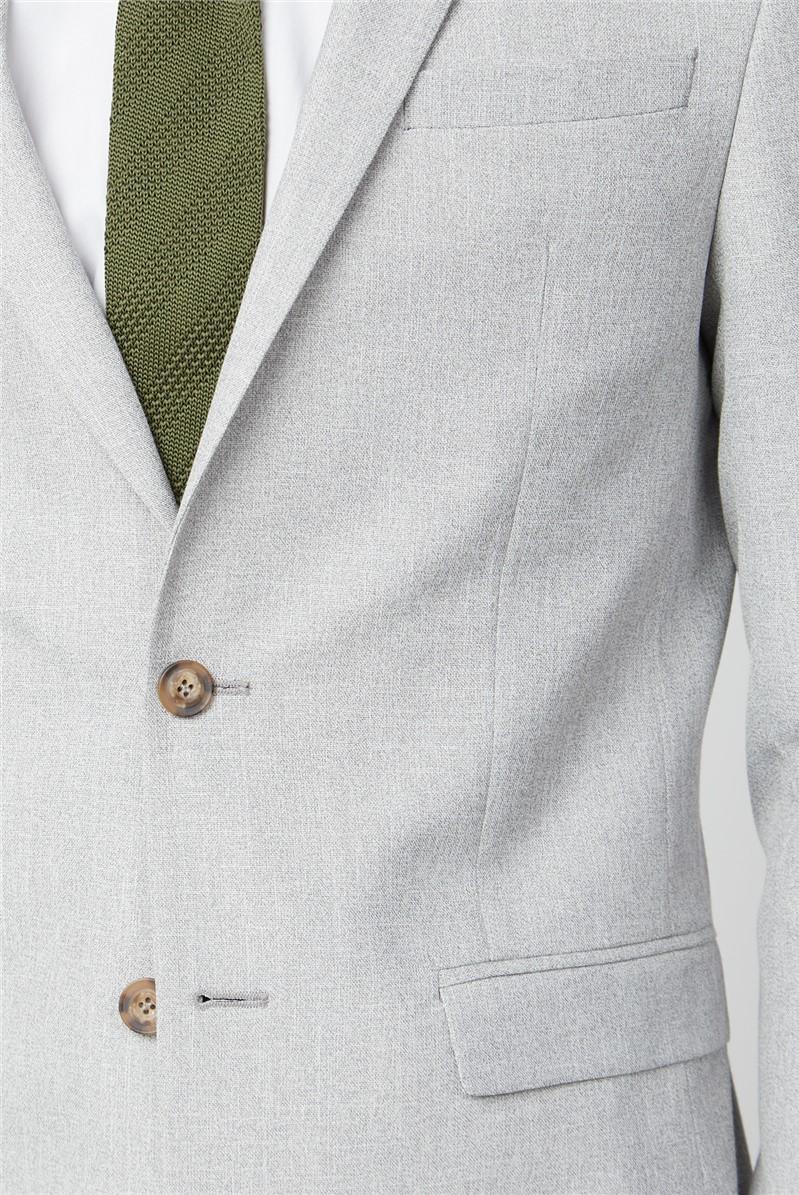 Ice Grey Slim Fit Suit