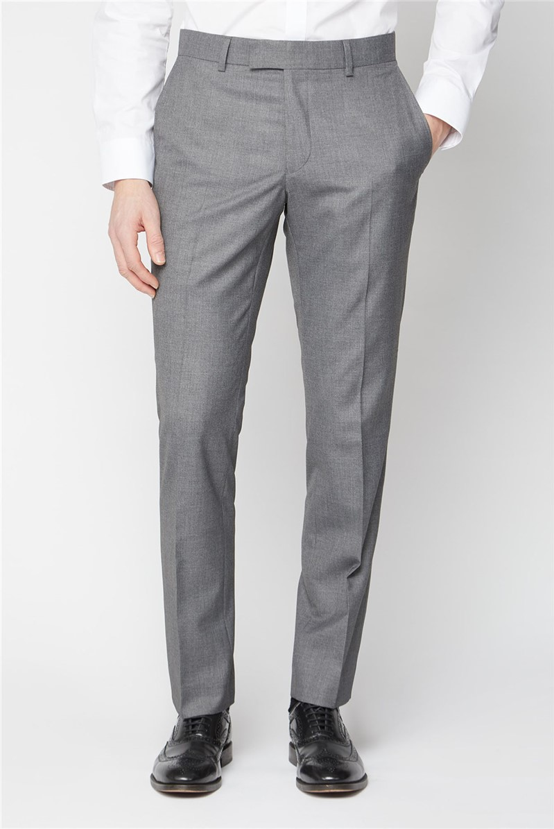 Occasions Grey Regular Fit Suit Trousers
