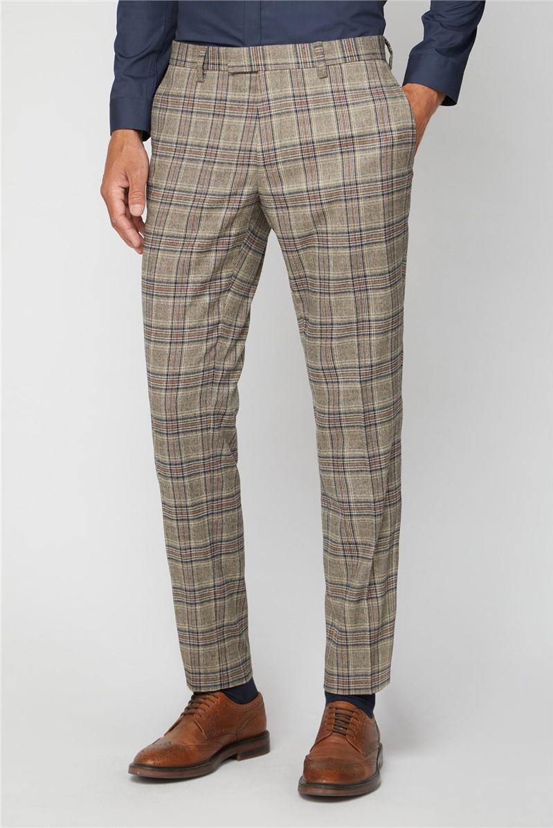 Oatmeal Heritage Regular Fit Trouser