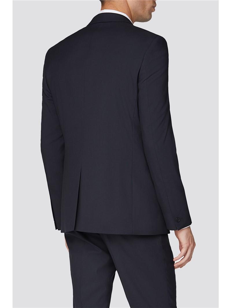 Plain Navy Slim Fit Suit