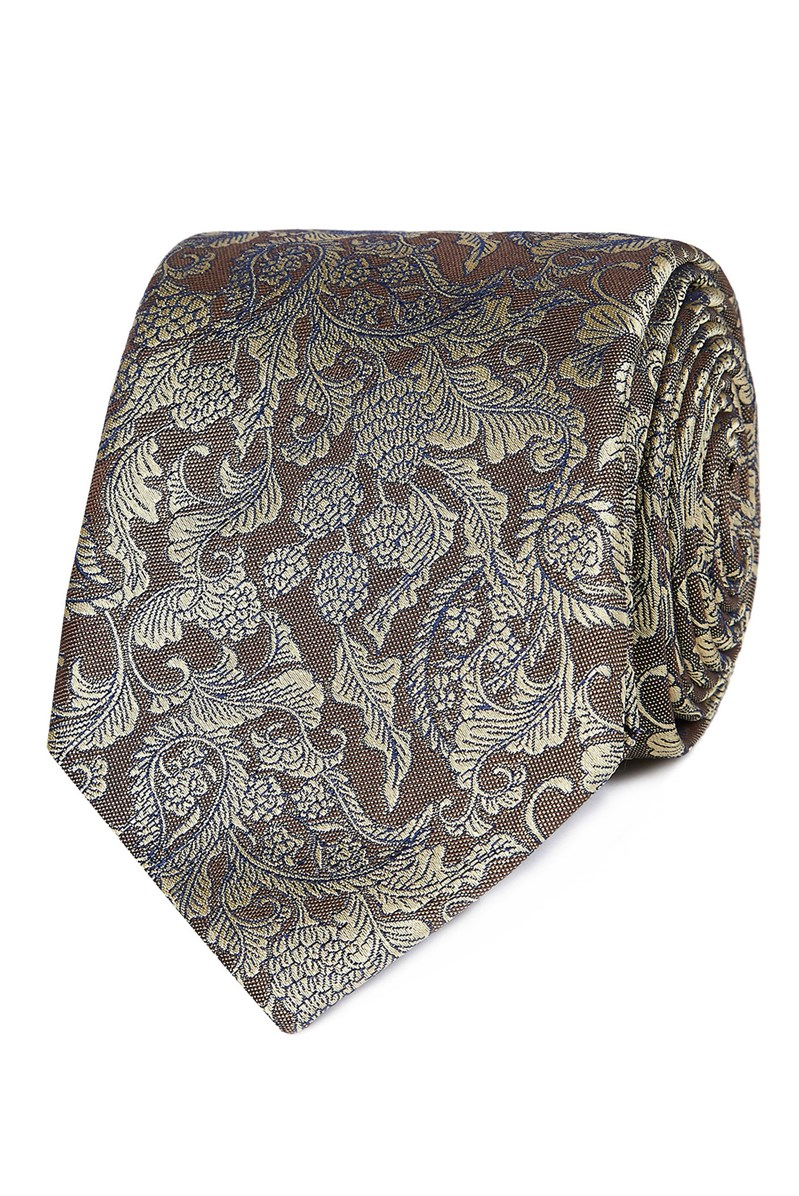 Stvdio Yellow Baroque Tie