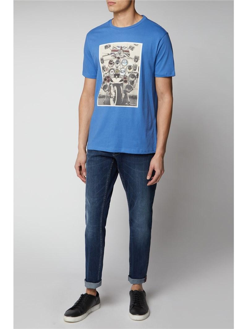 Scooter Print T-Shirt