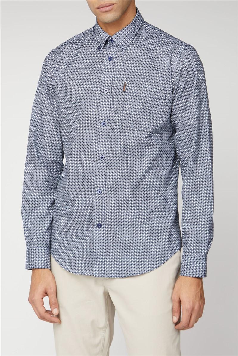 Long Sleeve Check Shirt.