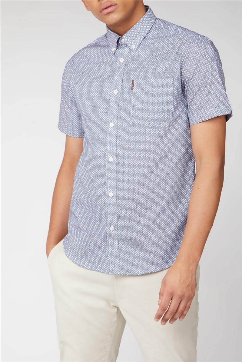 Short Sleeve Mini Geo Shirt