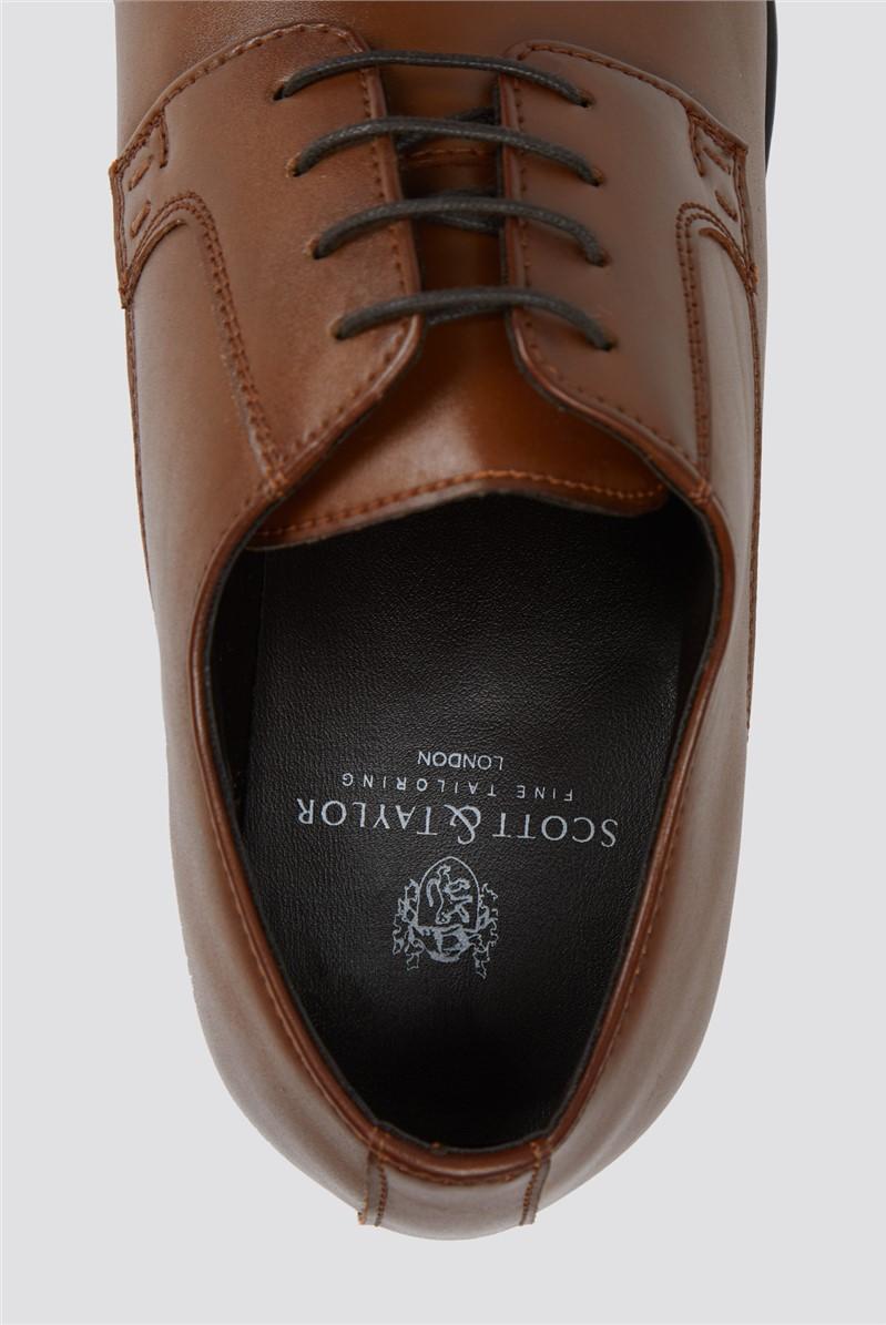 Tan Lace Up Shoe