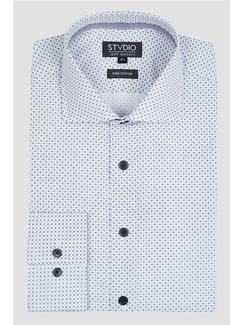 Stvdio by White Micro Sun Print Shirt