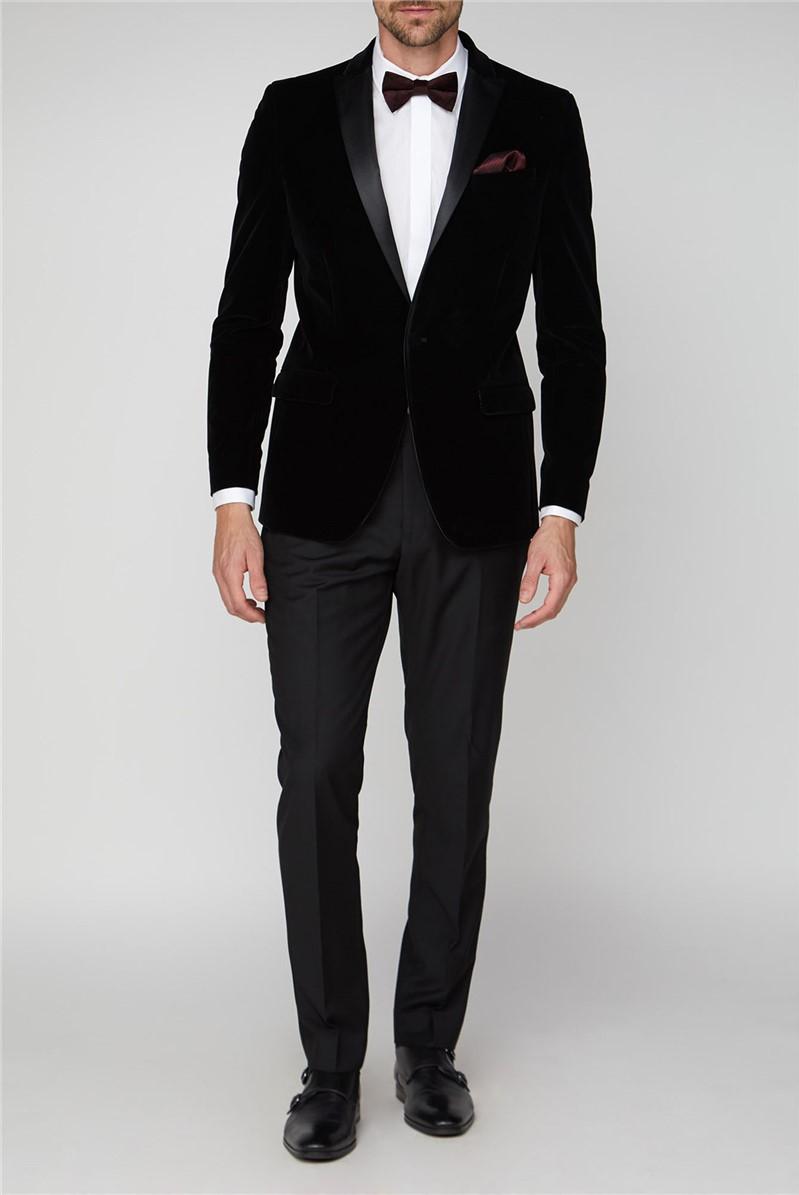 Black Velvet Regular Jacket