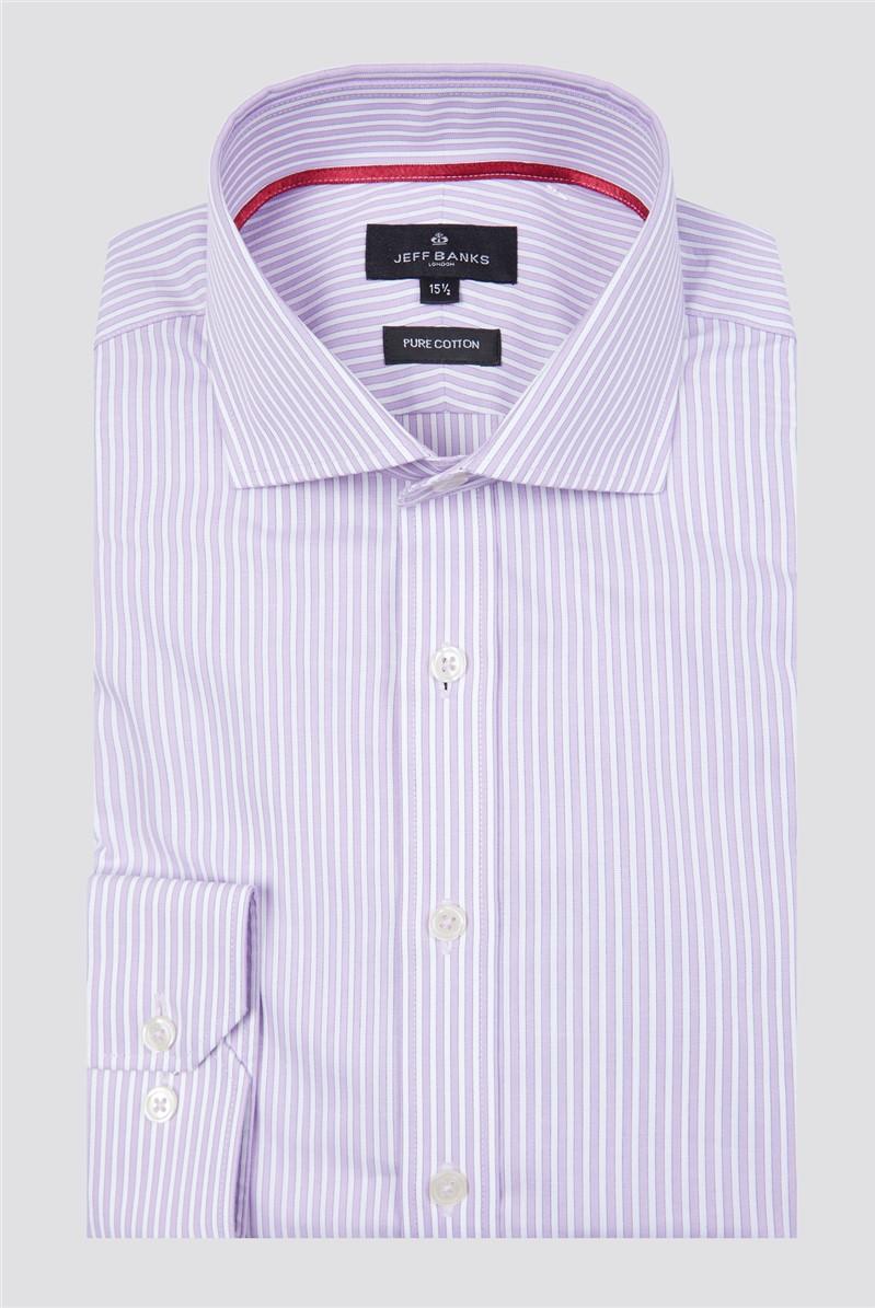 London Lilac Striped Shirt