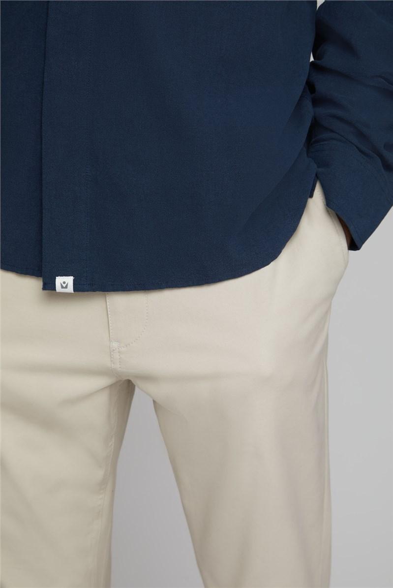 Hoburg Navy Boxy Shirt
