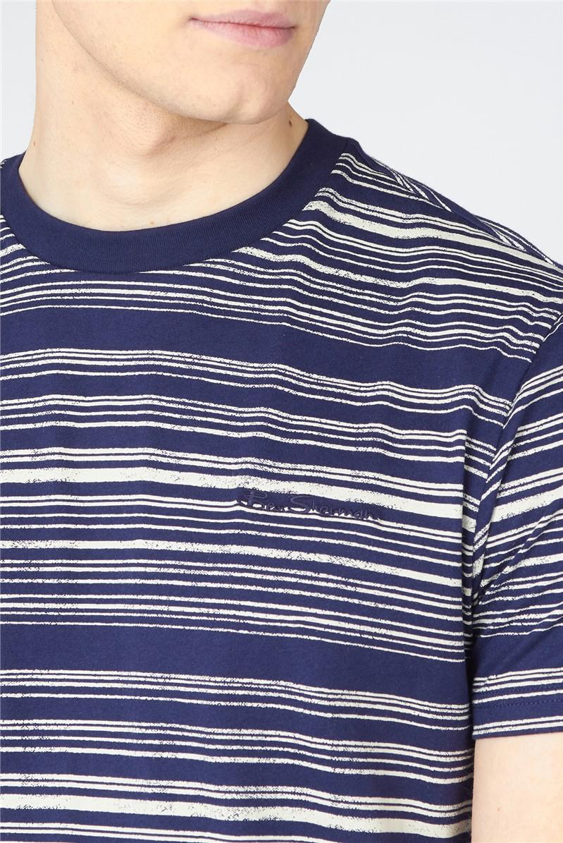 Discharge Print T-Shirt