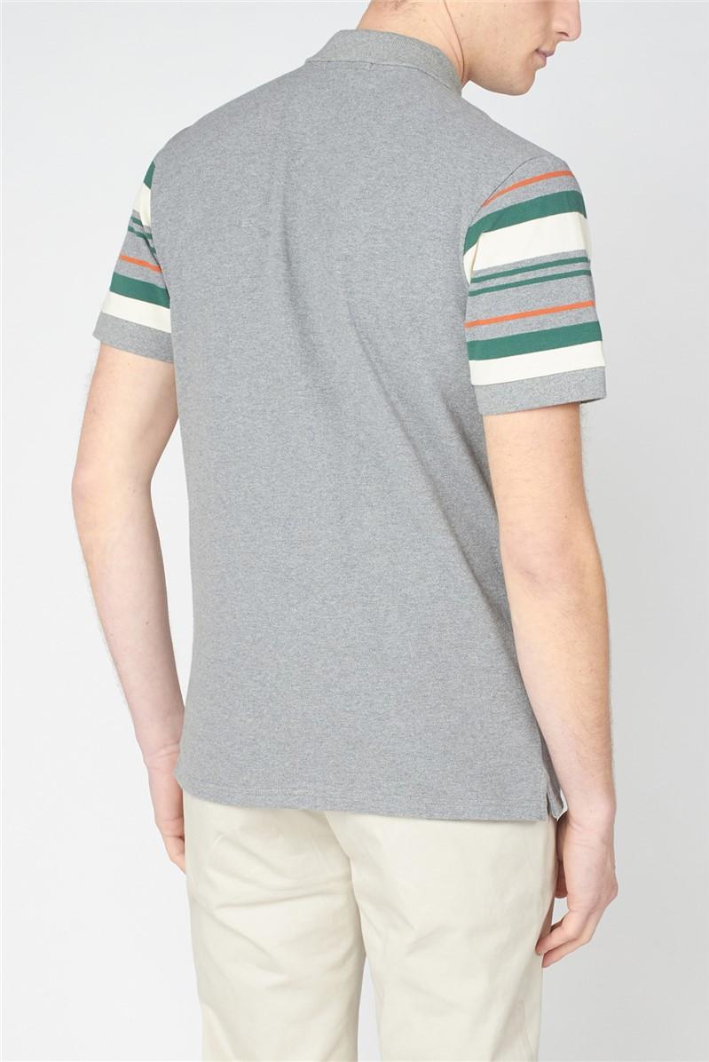 Sleeve Stripe Polo