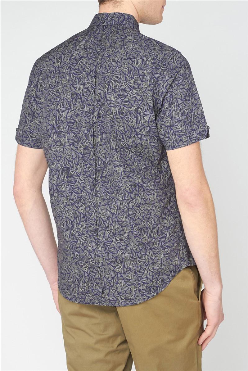 Linear Print Shirt