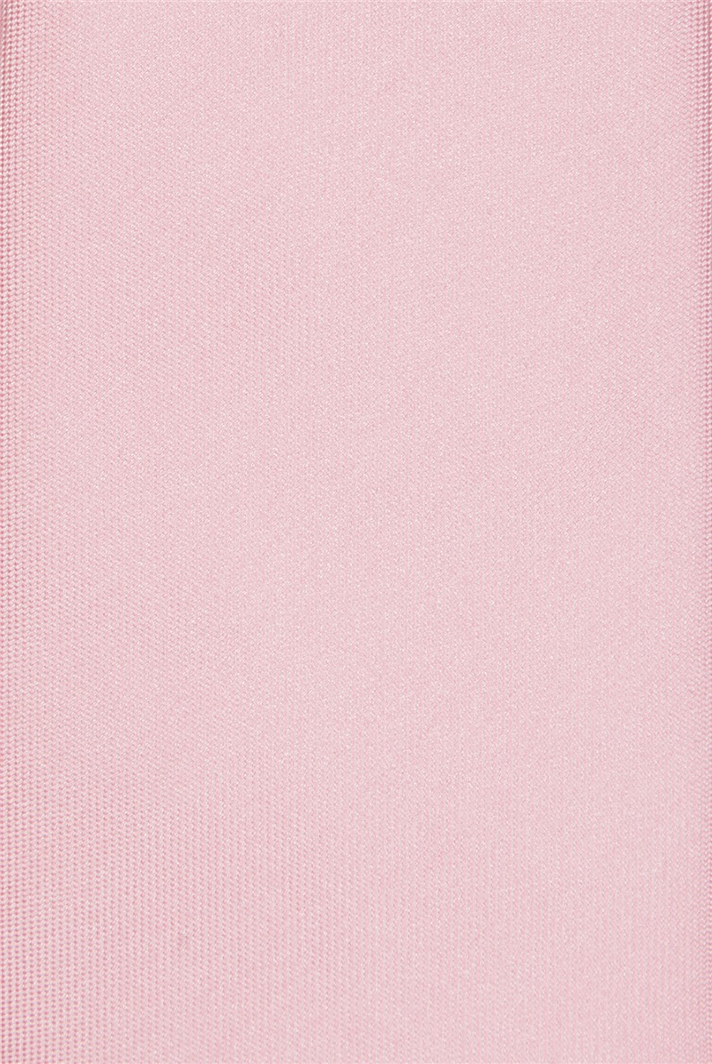 Dusky Pink and Blue Geo Tie & Hank Set