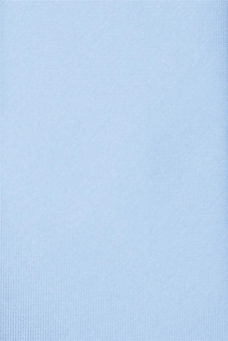 Light Blue Tie & Floral Hank Set