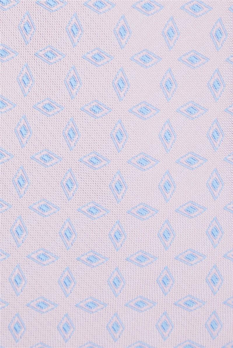 Light Pink Textured Tile Tie