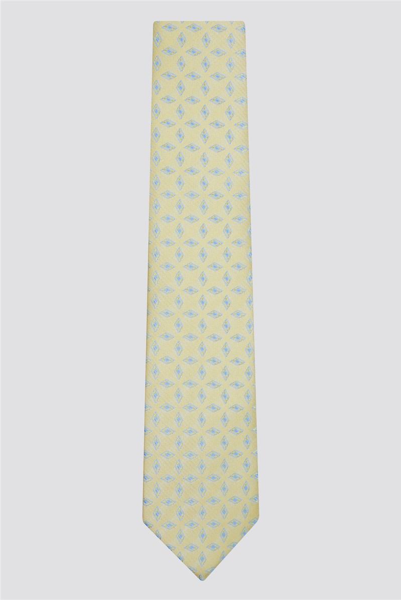 Gold Textured Tile Tie