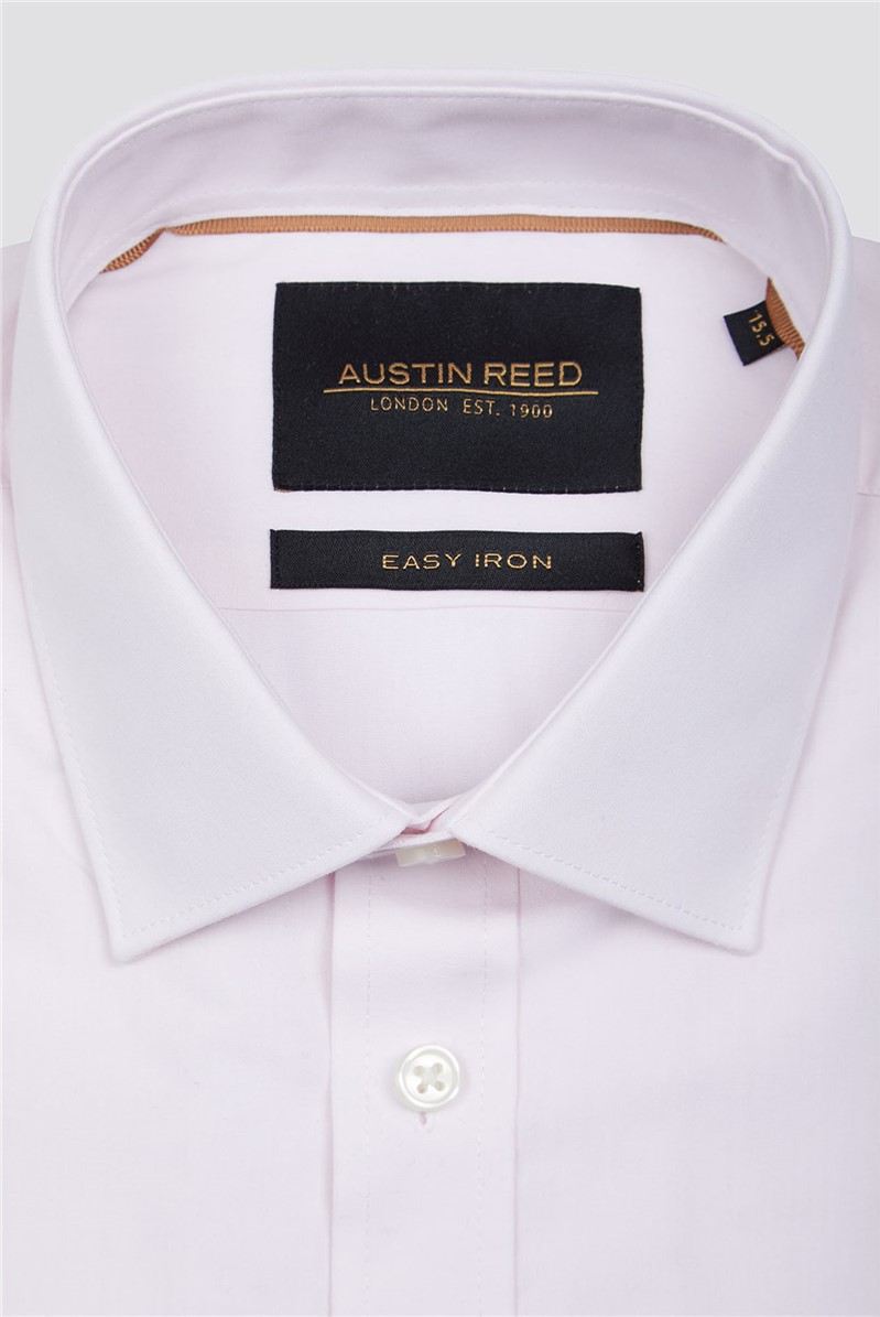 Branded Pink Twill Fabric Cotton Shirt Suitdirect Co Uk