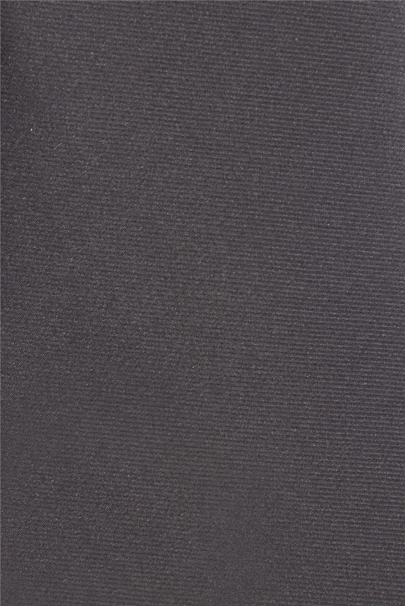 Black Plain Tie